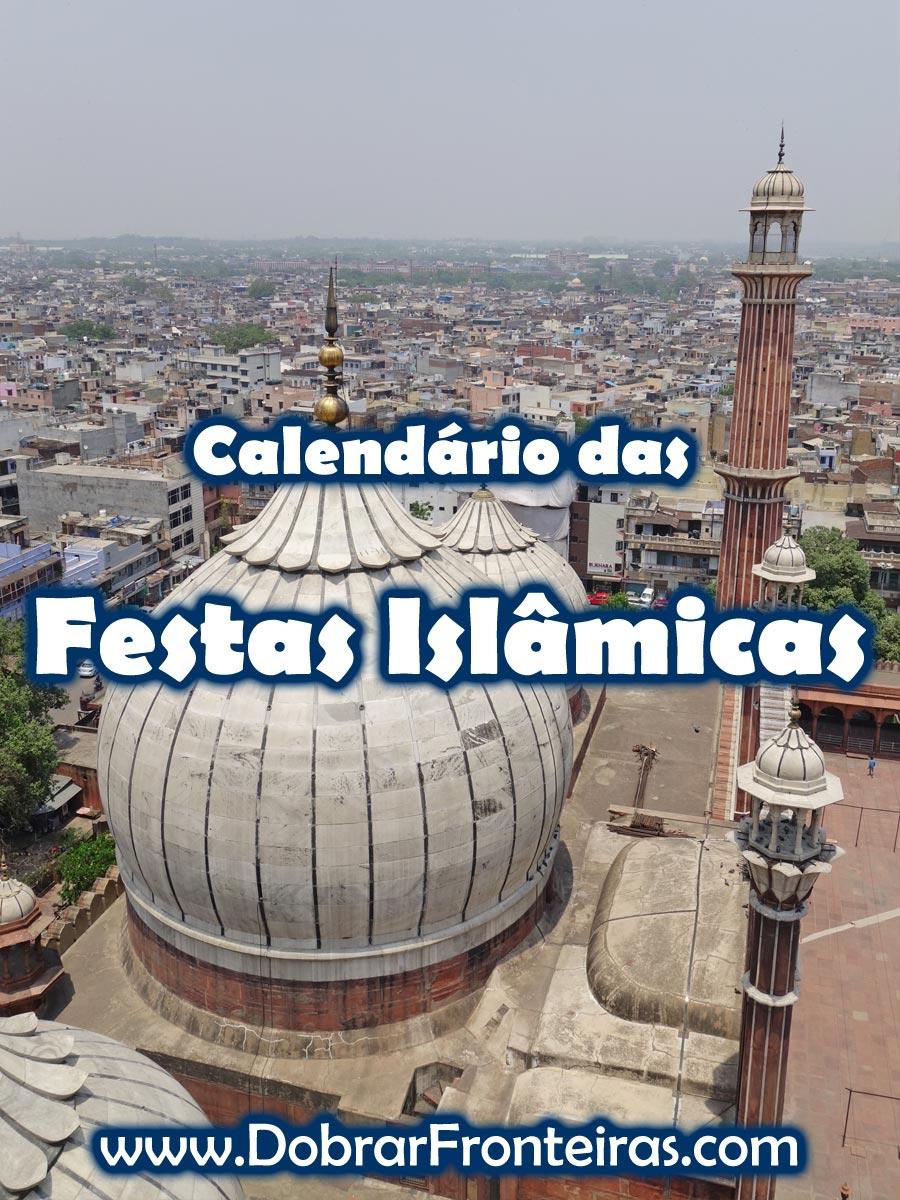 Calendário das Festas Islâmicas