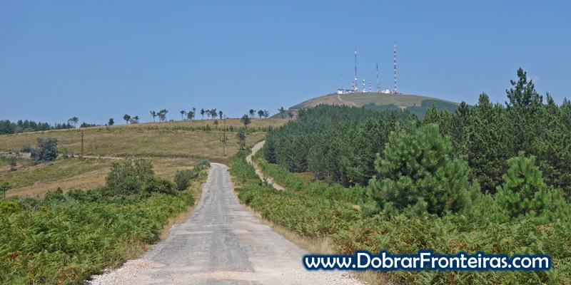 Antenas no alto do Trevim, Serra da Lousã