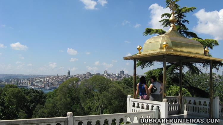 Varandim no palácio de Topkapi, Istambul