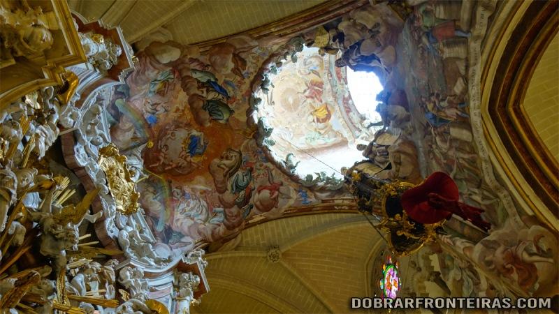 El Transparente na catedral de Toledo, Património da Humanidade em Espanha