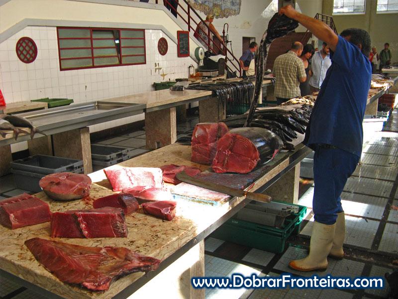 Atum no mercado dos lavradores, Funchal