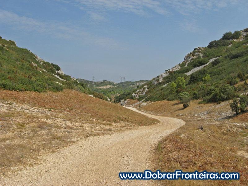 GR42, um troço do caminho de Santiago em França