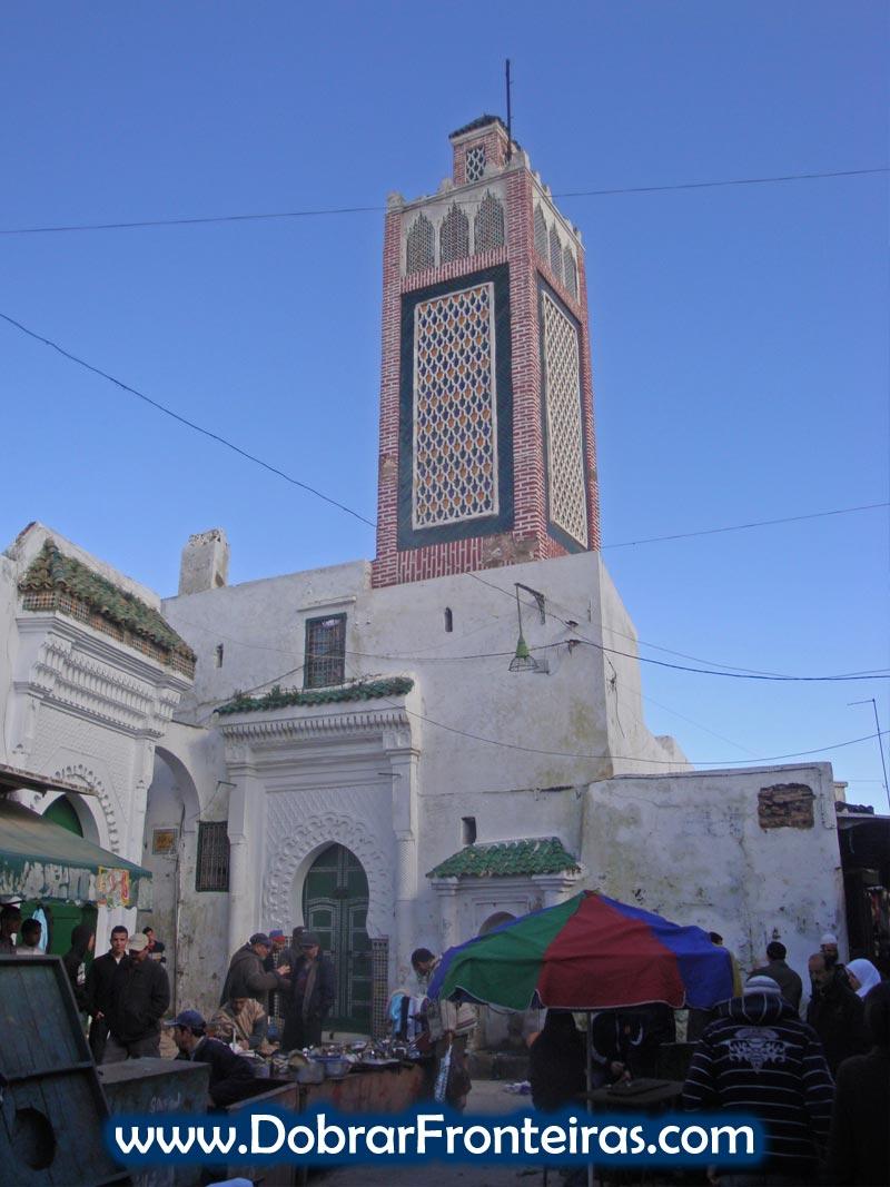 Mesquita em Tétoua, Marrocos