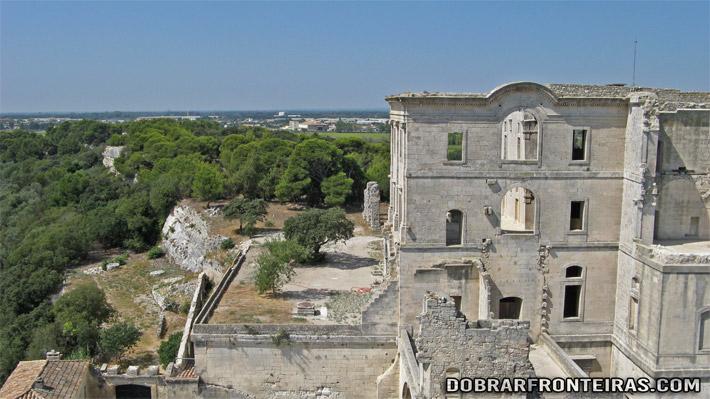 Abadia de Montmajour, próximo de Arles
