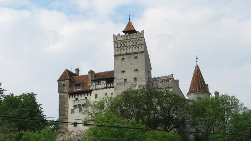 Castelo do Drácula em Bran, Roménia