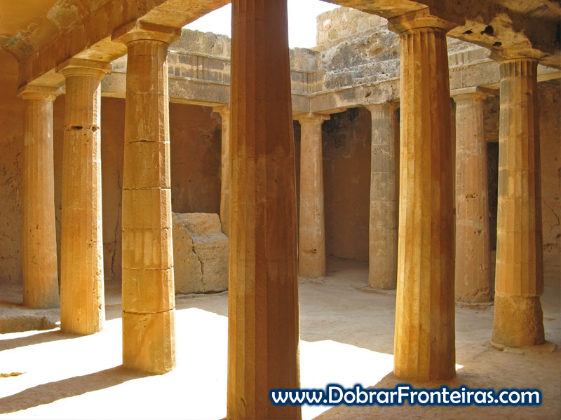 Túmulo 3 em Paphos
