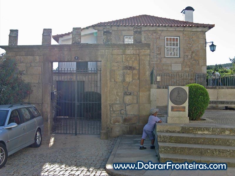Casa onde terá nascido Fernão de Magalhães em Sabrosa
