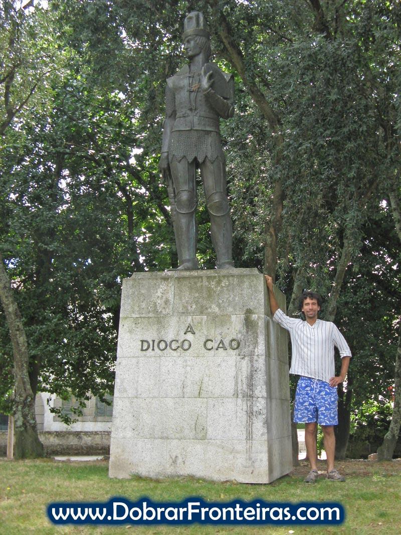 Estátua de Diogo Cão em Vila Real