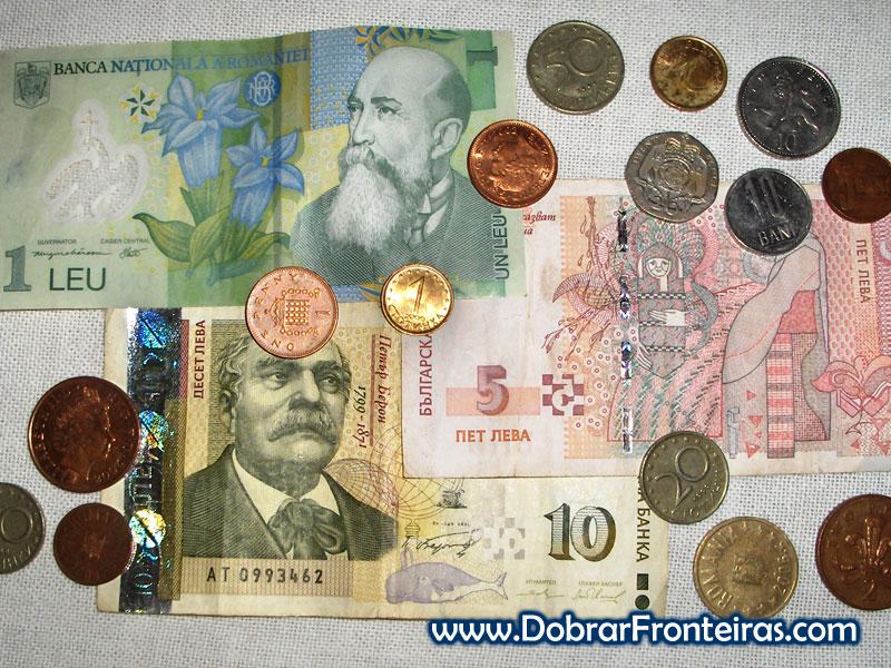 moedas notas europa