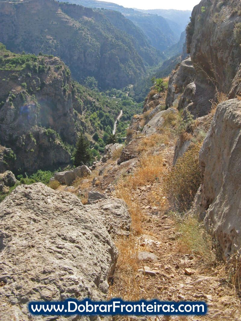 trilho qadisha libano