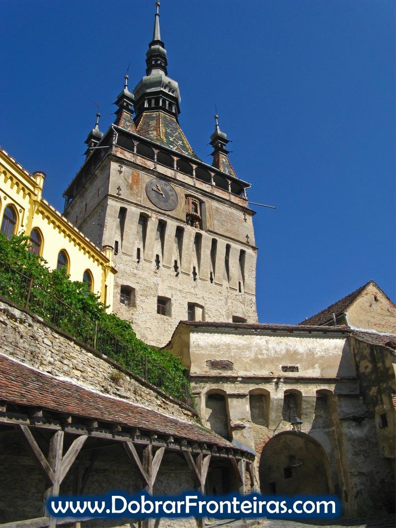 Torre do relógio em Sighisoara