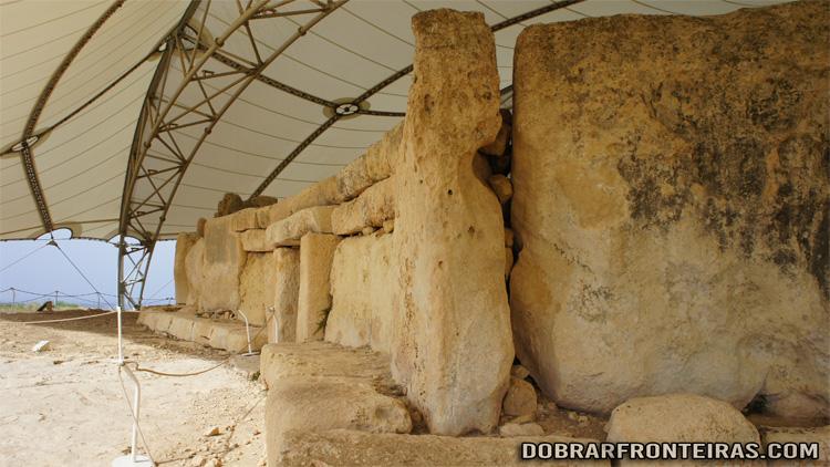 Templo Megalítico de Hagar Quim, ilha de Malta