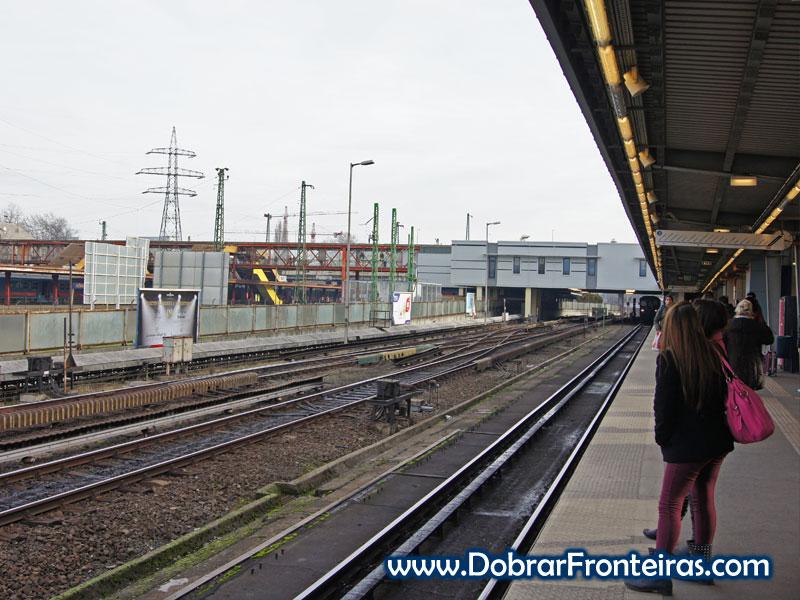 Estação de Kőbánya-Kispest em Budapeste