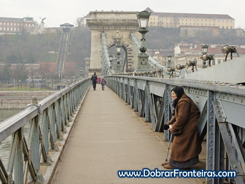 chain bridge Budapeste