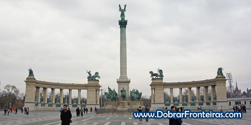 Praça dos Heróis Budapeste