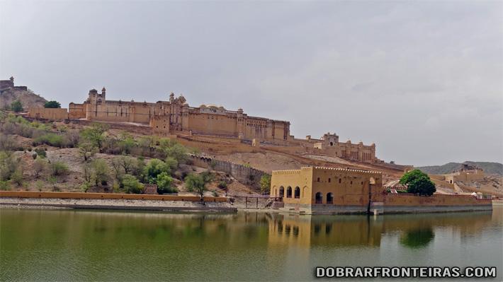 Palácio-Forte de Amber, Rajastão, Índia