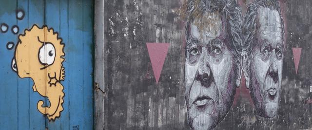 Arte urbana nas ruas de Ponta Delgada, Açores