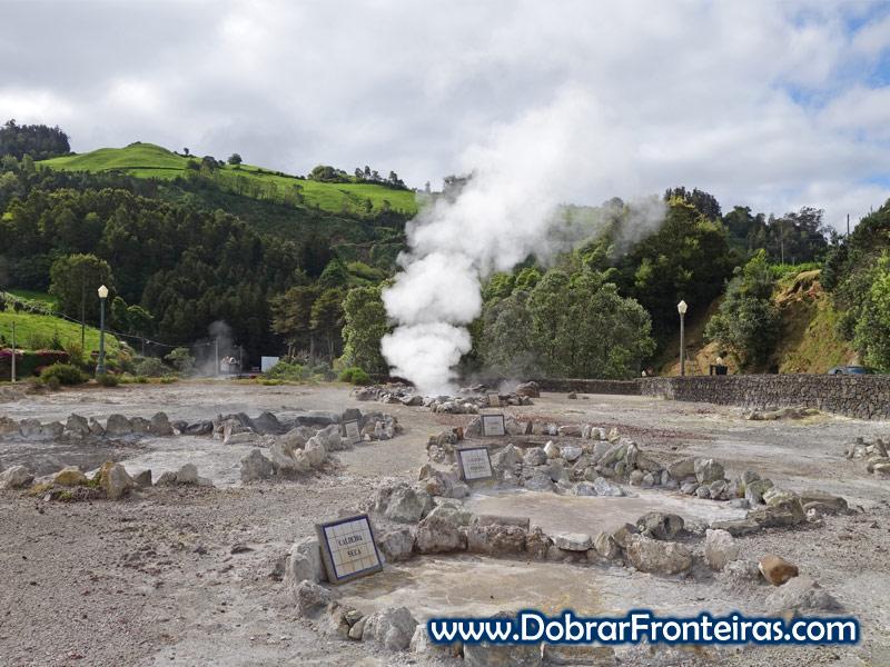 Fumarolas das Furnas, Açores
