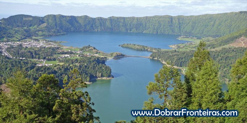 Miradouro da Vista do Rei, lagoa das Sete Cidades, Açores