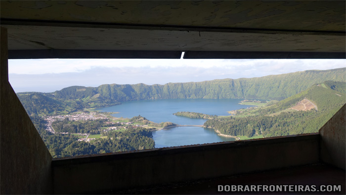 """A room with a view"" no hotel abandonado das Sete Cidades"