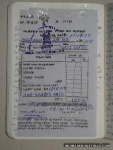 O meu bilhete para Lalibela