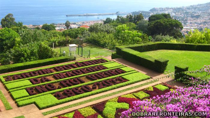 Jardim botânico do Funchal Madeira