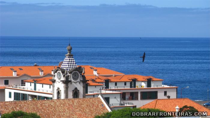 Mar na vila da Ribeira Brava, Ilha da Madeira