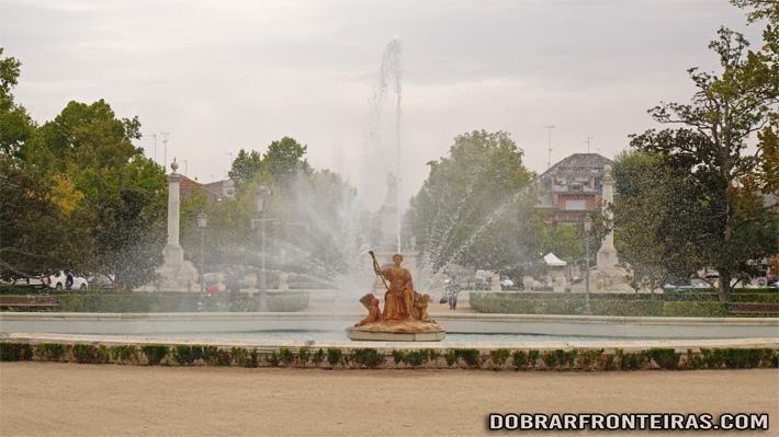 Fonte de Ceres em Aranjuez, Espanha