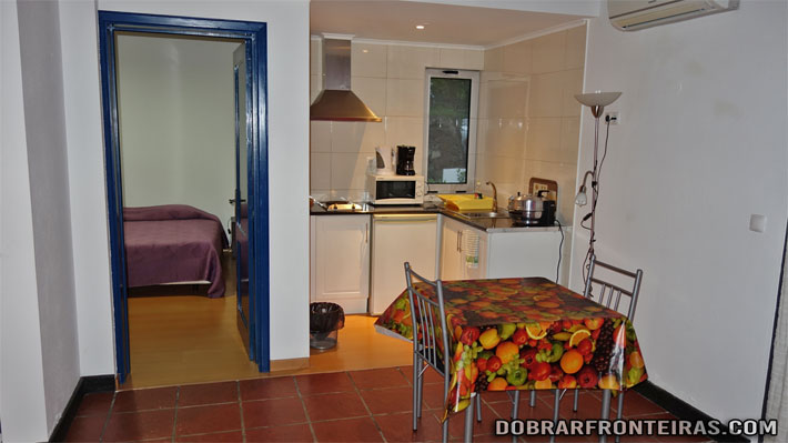 Interior de um apartamento na Quinta de Santana