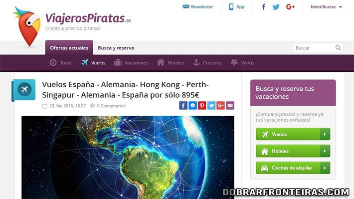 Exemplo de viagem volta ao Mundo por 895€