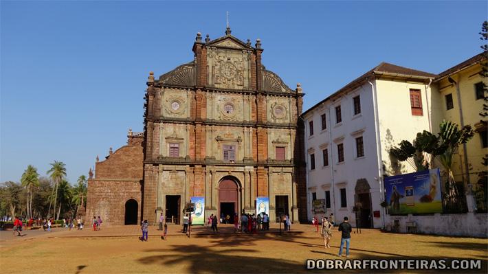Basílica do Bom Jesus em Goa Velha, Índia
