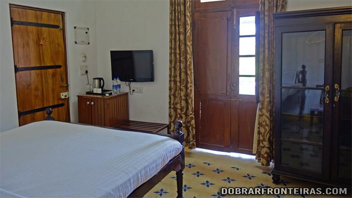 Quarto na hospedaria Abrigo de Botelho - Hotel em Panjim, Goa