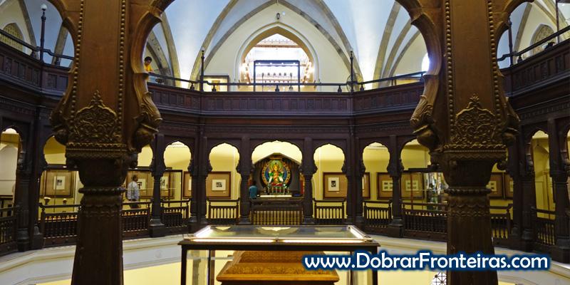 Galeria do museu CSMVS em Bombaim