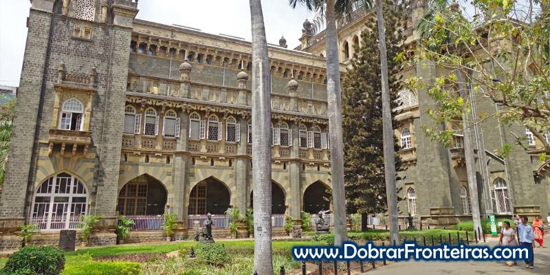 Exterior do museu CSMVS em Bombaim