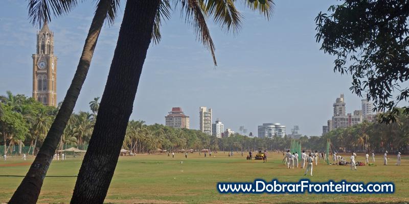 Oval Maiden, o parque onde a toda a hora se joga Críquete