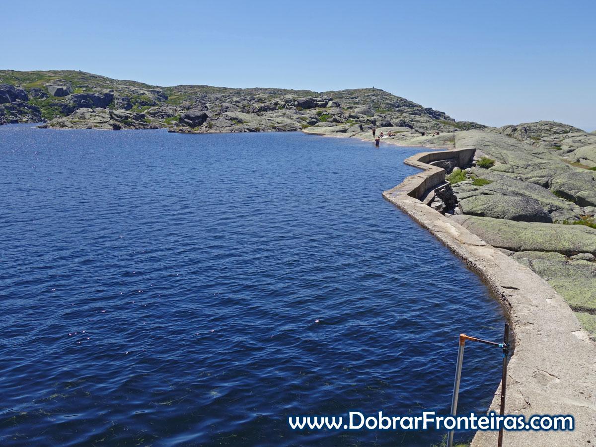 Lagoa Serrano na Serra da Estrela