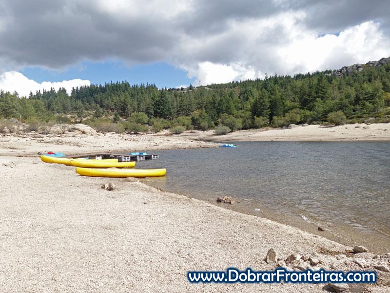 Praia fluvial do Vale do Rossim, Serra da Estrela