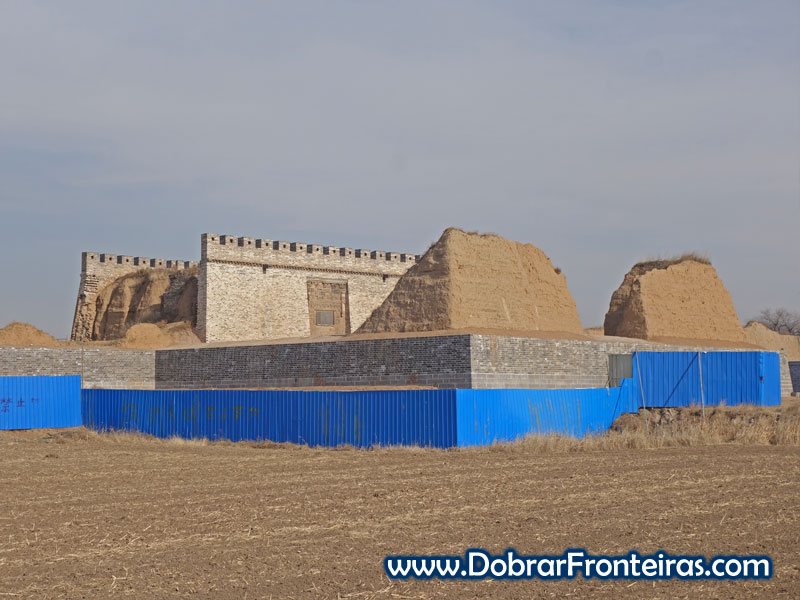 Deshengbao restauro muralha forte