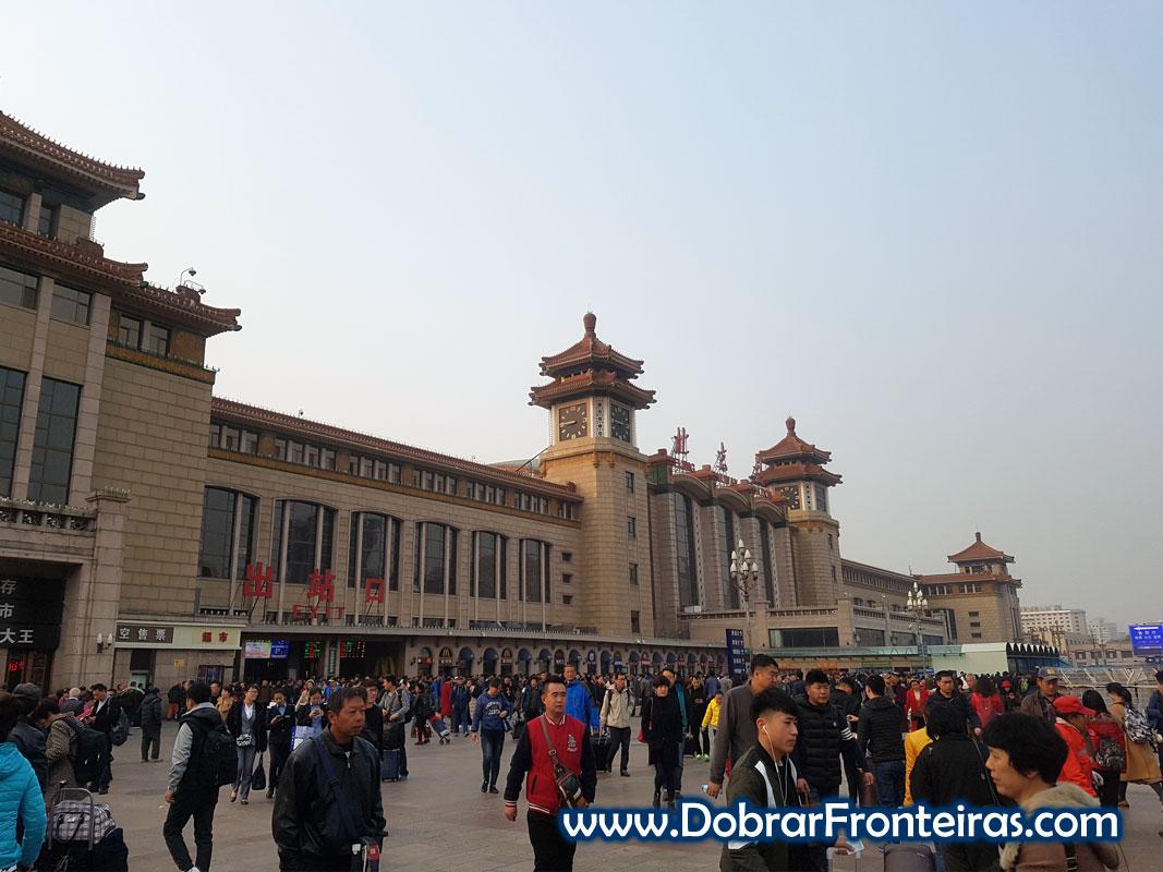 Estação comboios Pequim